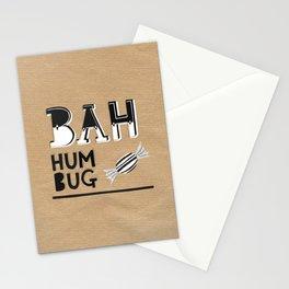 Bah Humbug! - Christmas Card Stationery Cards