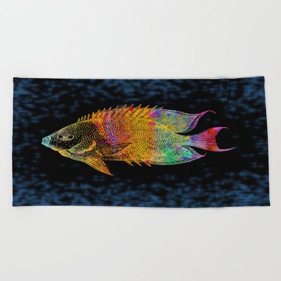 Fish Beach Towel