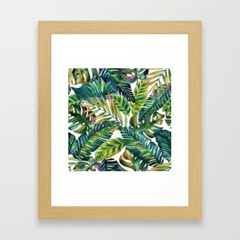 banana life Framed Art Print