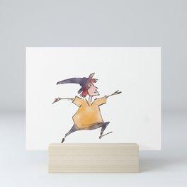 Jump. Mini Art Print