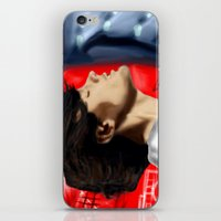 louis tomlinson iPhone & iPod Skins featuring Louis Tomlinson by Manny D