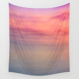 Morning Love - Colors of the Sea Wall Tapestry