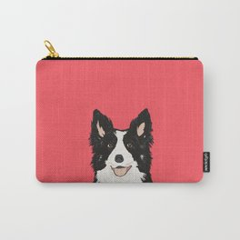 Montana - Border Collie gifts for dog people and dog lovers perfect gifts for a dog person.  Carry-All Pouch