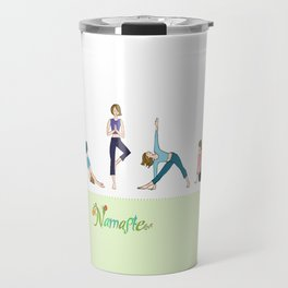 Yoga Girls_Poses_Robin Pickens Travel Mug