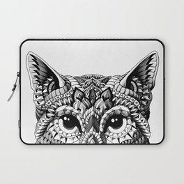 Cat Head Laptop Sleeve