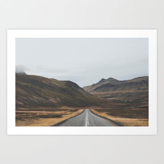 Innra Hvannagil, Iceland Art Print