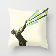 The Power of Magic Throw Pillow