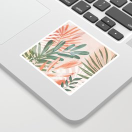 Tropical Leaves 4 Sticker