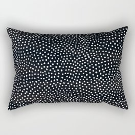 Guinea Fowl Print Rectangular Pillow