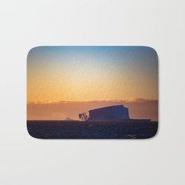 Sunset Iceberg Bath Mat