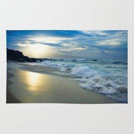 One Dream Sunset Hookipa Beach Maui Hawaii Rug