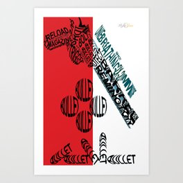 Magnum Art Print