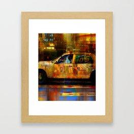 Missed cab  Framed Art Print