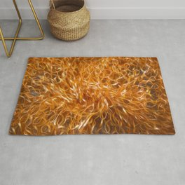 Abstract Explosionism Rug