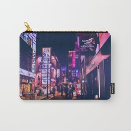 Tokyo  Dreams 東京夢 Carry-All Pouch