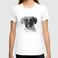 boxer T-shirts featuring Boxer by Nuria Galceran