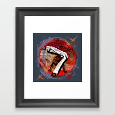 Capoeira 545 Framed Art Print