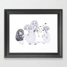 segmentation Framed Art Print