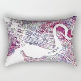 Perth map Rectangular Pillow
