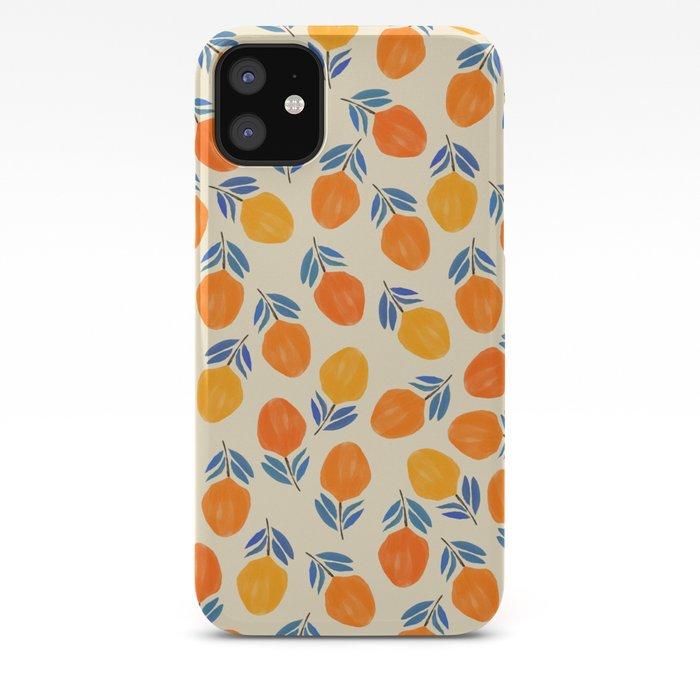 Tangerine iPhone Case