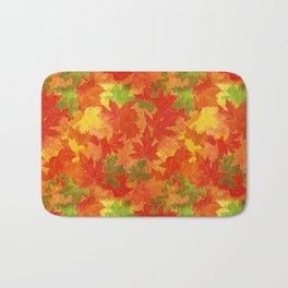 Autumn leaves #17 Bath Mat