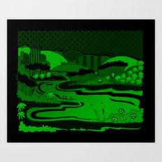 River São Francisco Art Print