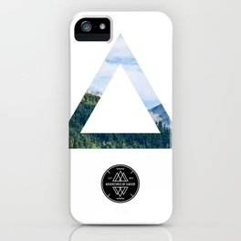 The Forest View Triangle iPhone Case