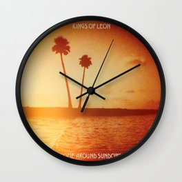 Come Around Sundown Expanded Edition by Kings of Leon Wall Clock