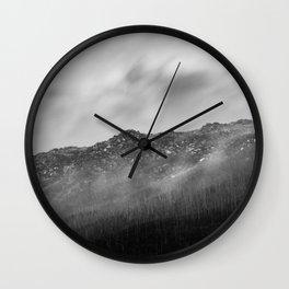 Alpine Mist Wall Clock
