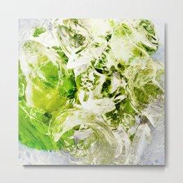 439 - Abstract drink design Metal Print