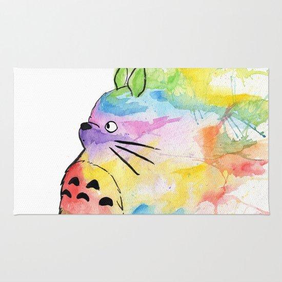 My Rainbow Totoro Rug