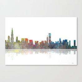 Chicago Skyline 1 BW1 Canvas Print