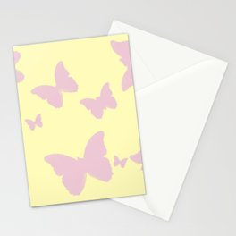 Lil Pink Butterfly Stationery Cards