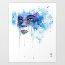 Frosti Art Print