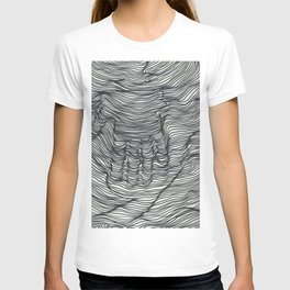 seismic waves T-shirt