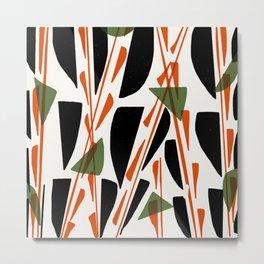 Abstracted Metal Print