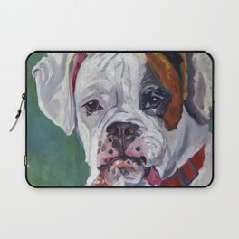 Boxer Dog Portrait Laptop Sleeve