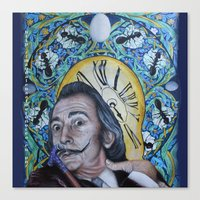 dali Canvas Prints featuring Dali  by Magdalena Almero