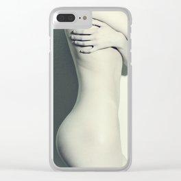 5789 Natasha Nude Self Love Clear iPhone Case