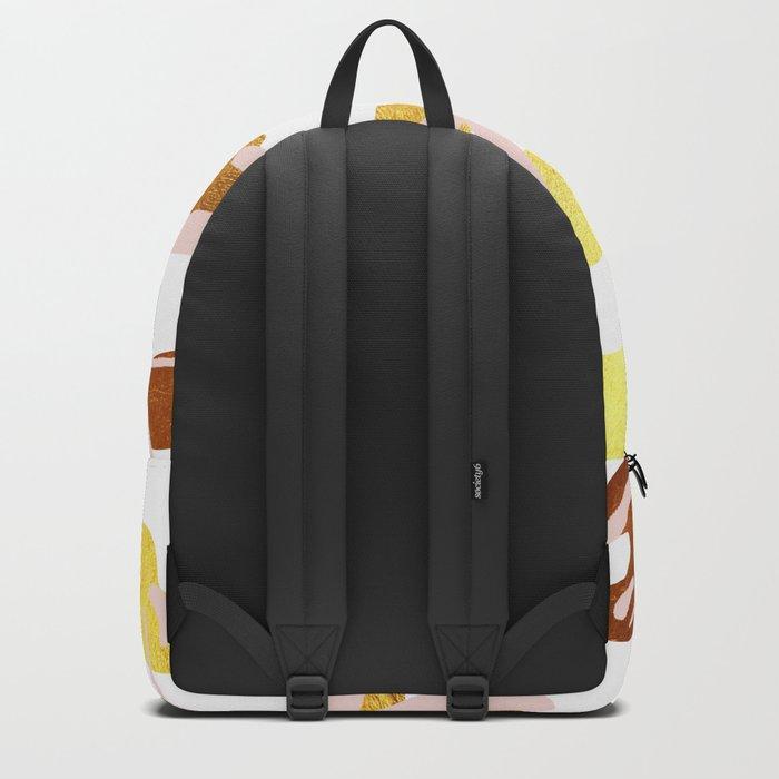 Girlish Monstera Backpack