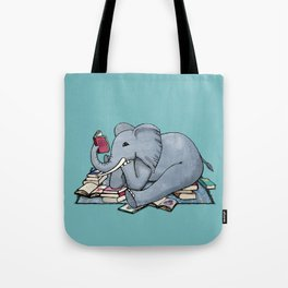 The Best Thing About Rainy Days Tote Bag