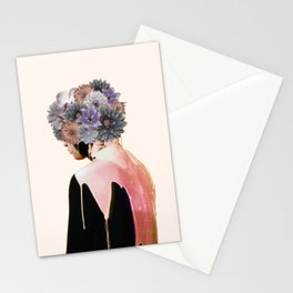 Flowers Bloom, Mind Drips Out Stationery Cards