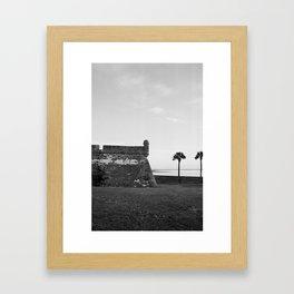 Spanish Fort  Framed Art Print
