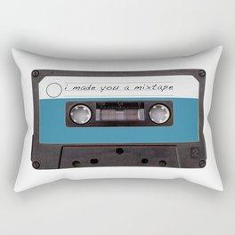 I made you a mixtape   Mix Tape Graphic Design Rectangular Pillow