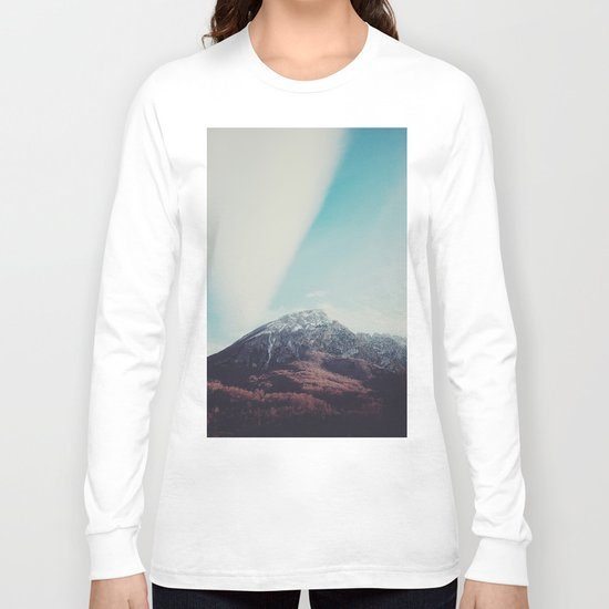 Mountains in the background XIII Long Sleeve T-shirt