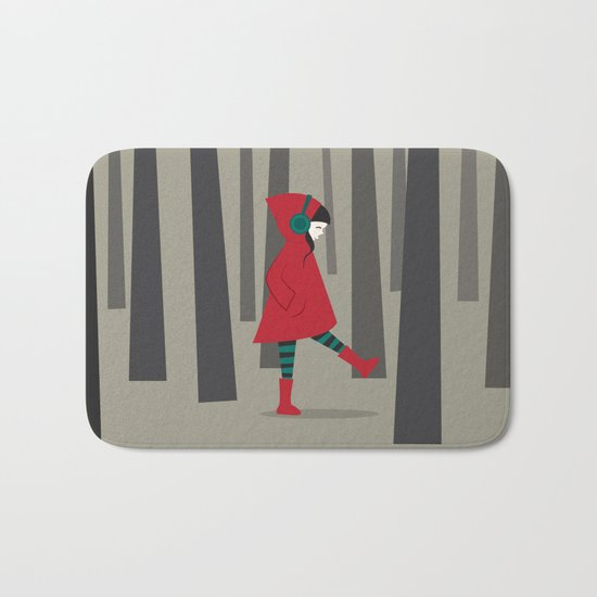 There is No Wolf Bath Mat