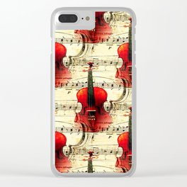 Violin Concerto Clear iPhone Case
