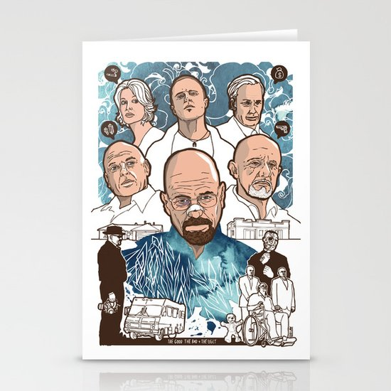 Breaking Bad: The Good, The Bad & The Ugly Stationery Cards