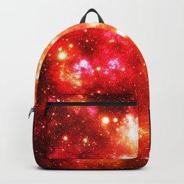 Red Orange Galaxy Nebula Backpack