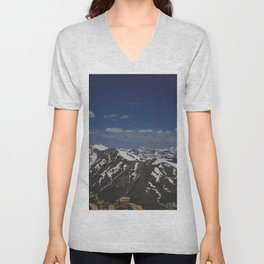 From the Top of the Rockies Unisex V-Neck